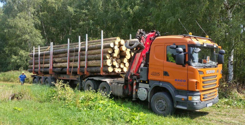 Odvozní souprava Scania