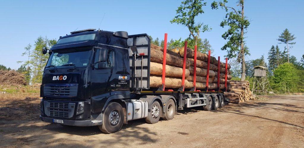 Odvozní souprava Volvo